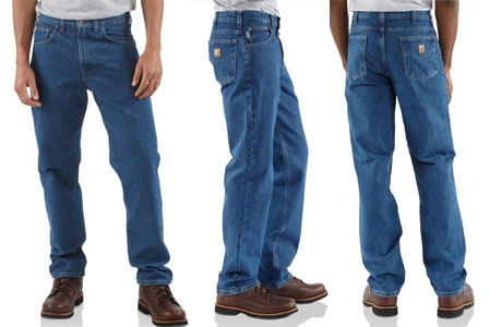 Carhartt Jeans Fit Guide Dungarees Work Wear Resources