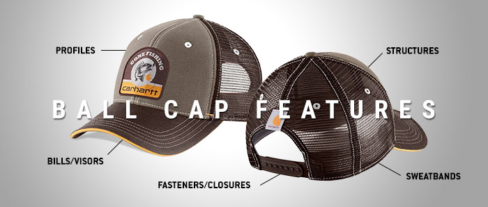 2c03e0355bd1a Ball Cap Features Explained - Dungarees Work Wear Resources
