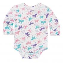 Run Wild and Free Bodyshirt - Girls