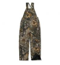 Work Camo Bib Overall Quilt Lined - Boys