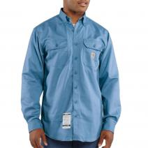 32914a673d7 ... Flame-Resistant Long Sleeve Twill Pocket Shirt