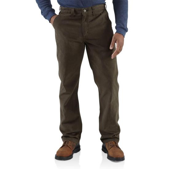 Carhartt 100095 - Rugged Work Khaki Relaxed Fit Pant