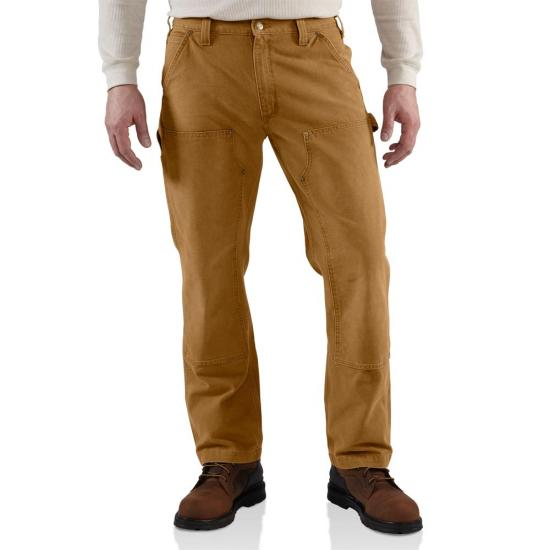 Carhartt 100098 - Double Front Weathered Duck Relaxed Fit Pant