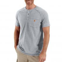 Force® Short Sleeve Henley T-Shirt