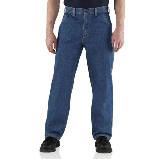 Carhartt 100459 - Flame-Resistant Denim Loose-Original Fit Utility Jean