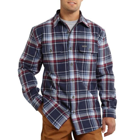 Carhartt 100585 - Youngstown Thermal Lined Flannel Shirt Jac