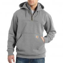 Paxton Heavyweight Quarter Zip Hooded Sweatshirt