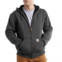 Rutland Thermal Lined Zip Front Hooded Sweatshirt