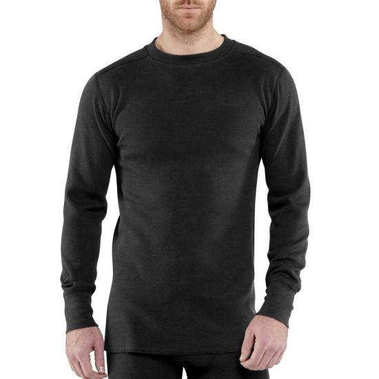 Carhartt 100639 - Force® Heavyweight Cotton Thermal Crew Neck Top