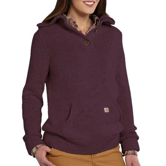 Carhartt 101430 - Women's Viola Mock Neck Hooded Sweatshirt