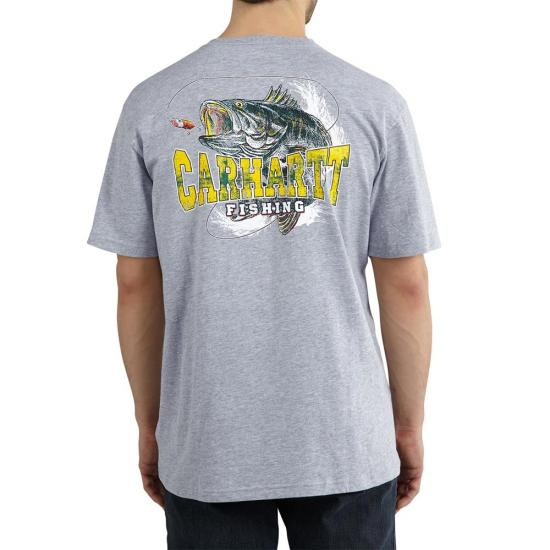 Carhartt 101605 - Maddock Graphic Hooked Short Sleeve T-Shirt