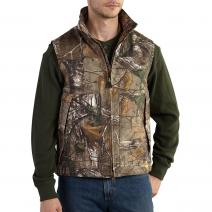 Quick Duck® Camo Vest - Quilt Lined