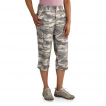 Women's Relaxed Fit El Paso Camo Cropped Pant