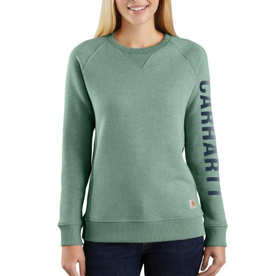 Bay Green Heather Carhartt 104410 Front View