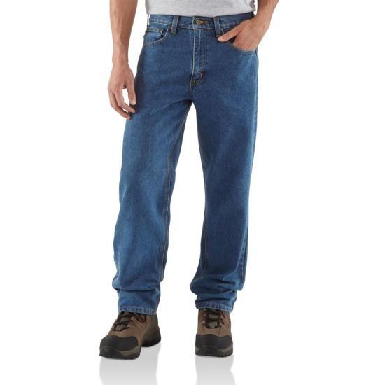 Carhartt B160 - Relaxed Fit Straight Leg Work Jeans