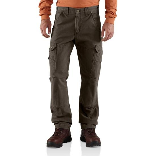 Dark Coffee Carhartt B342 Front View