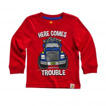 Here Comes Trouble Tee - Boys
