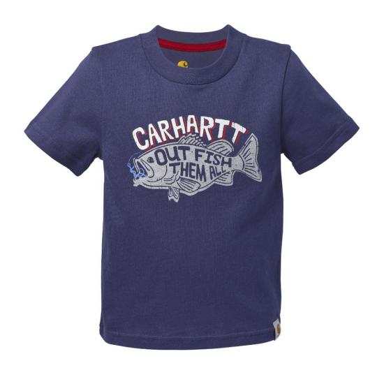 Carhartt CA8570 - Out Fish Them All Tee - Boys