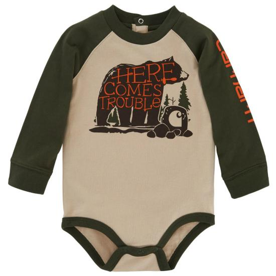 Carhartt CA8618 - Here Comes Trouble Bodyshirt - Boys