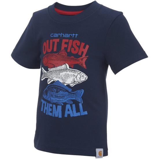 Carhartt CA8695 - Out Fish Them All Tee - Boys