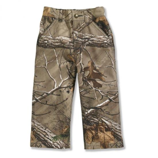 Carhartt CK8363 - Washed Camo Pant - Boys