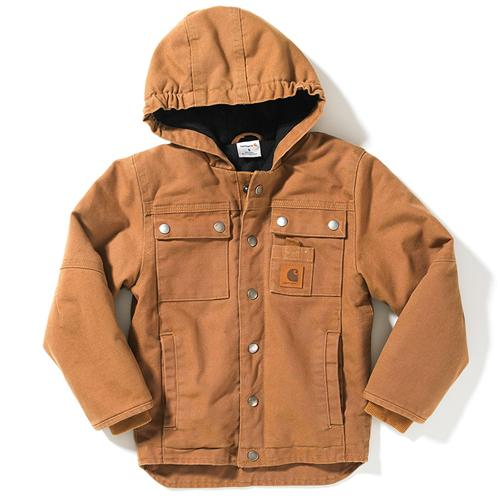 Carhartt CP8441 - Rancher Jacket Quilted Flannel Lined - Boys