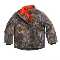 Camo Jacket Quilted Flannel Lined - Boys