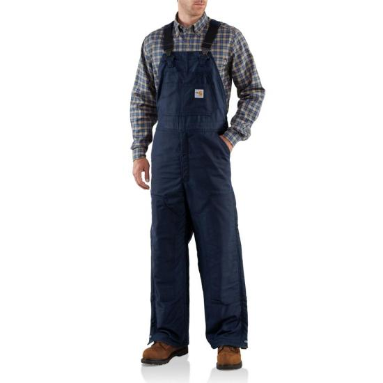Carhartt FRR43 - Flame-Resistant Midweight Bib Overall - Quilt Lined