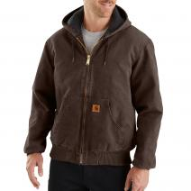 Sandstone Duck Active Jacket - Quilted Flannel Lined