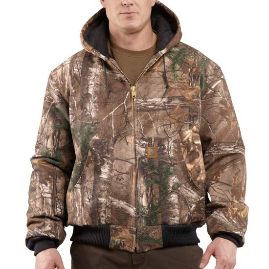 Realtree Xtra Carhartt J221 Front View