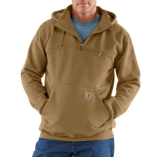Carhartt K217 - Heavyweight Hooded Zip-Mock Sweatshirt