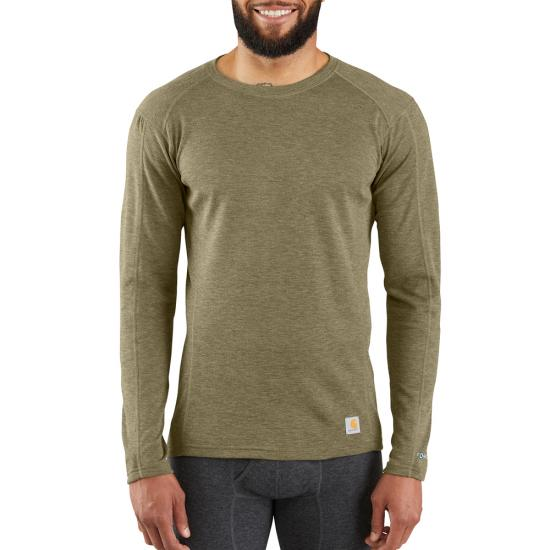 Rock Face Mens Big-Tall Mid-Weight Crew Thermal Shirt