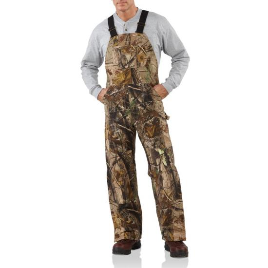 19c919507017c Carhartt R54 - WorkCamo® Bib Overall - Quilt Lined | Dungarees