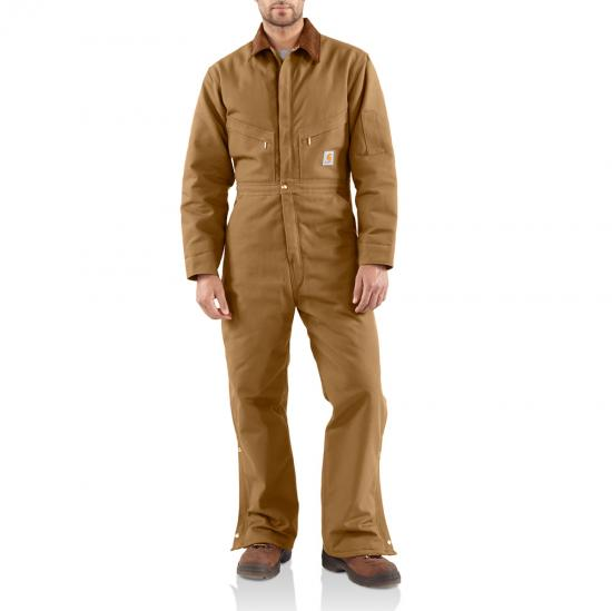 Carhartt Brown Carhartt X01 Front View