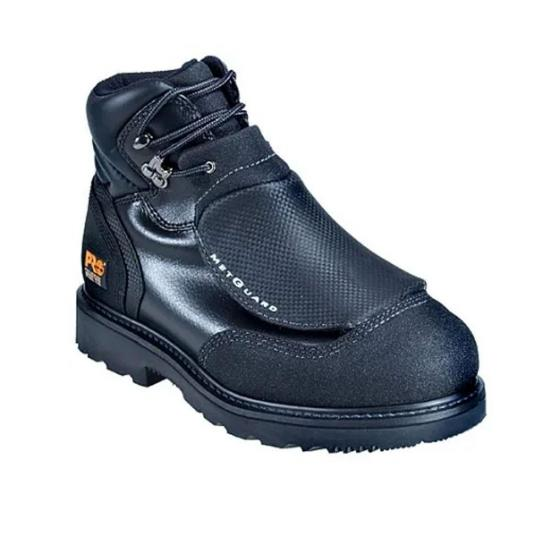 Black Timberland PRO 40000TP Front View